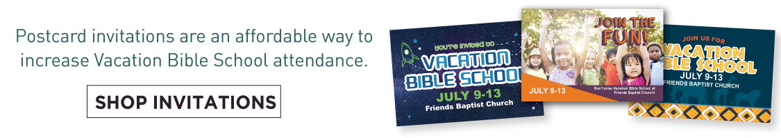 Vacation Bible School Invitations
